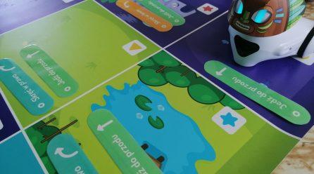 Warsztaty z robotami Photon i Ozobot