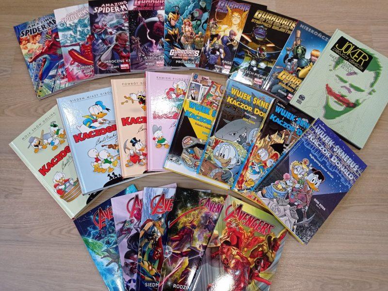 Komiksy – nowości marzec 2021